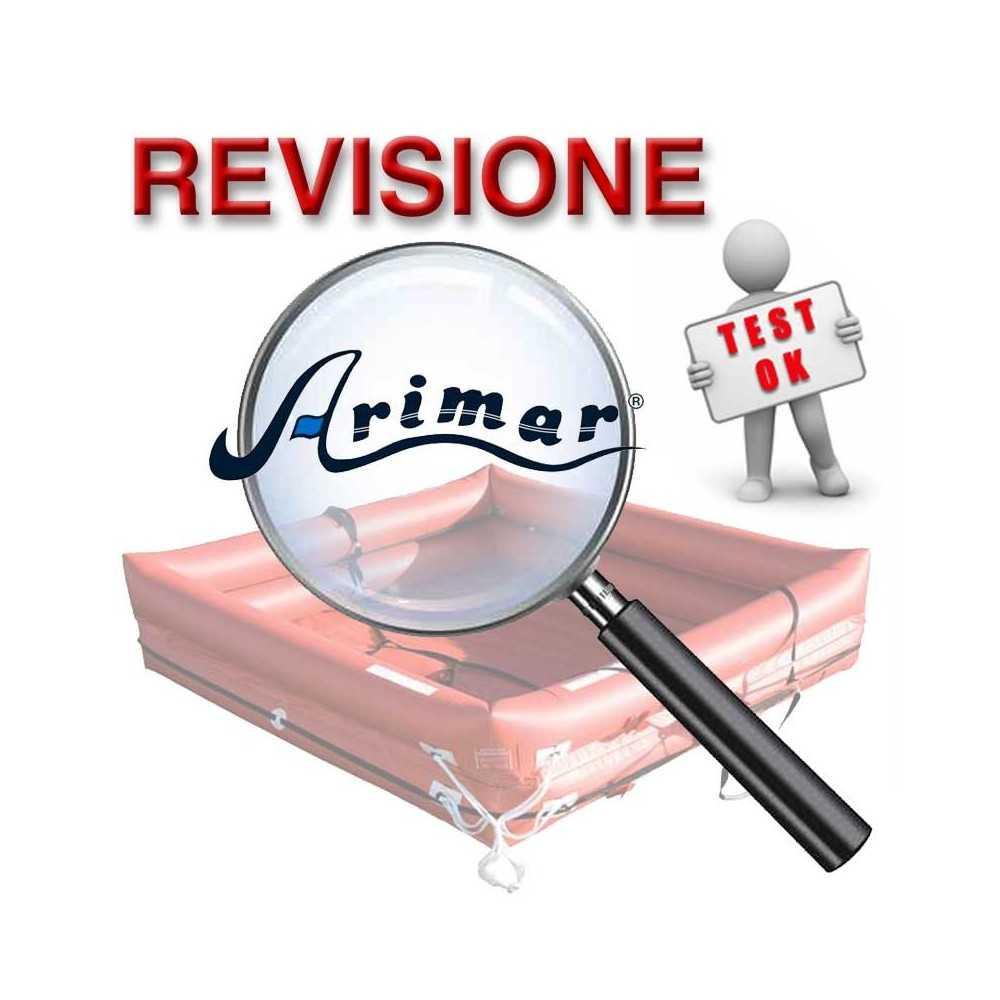 Revisione Zattera di salvataggio COASTAL diporto Italia entro le 12 miglia