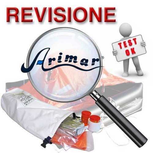 Revisione Zattera di salvataggio ISO 9650 Arimar diporto Italia