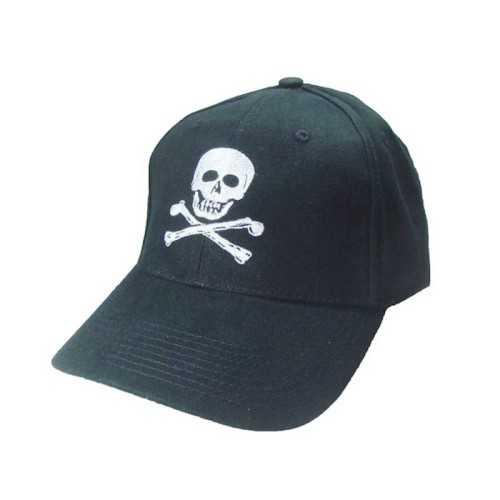 Cappellino con visiera Skull