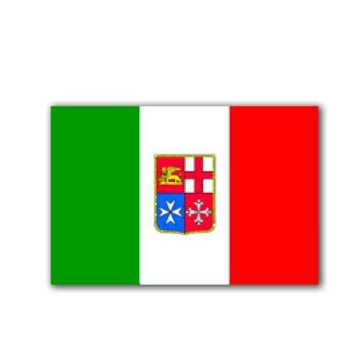 Adesivo Bandiera Marina Mercantile Italiana