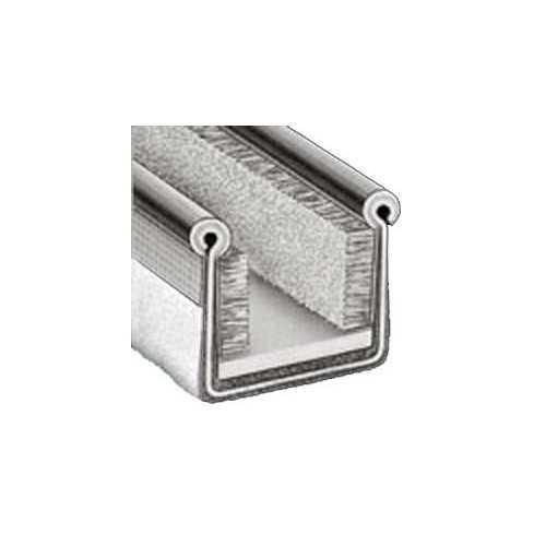 Canalina flessibile per vetri scorrevoli