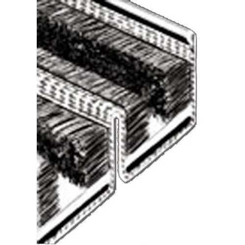 Canalina rigida per vetri scorrevoli doppi