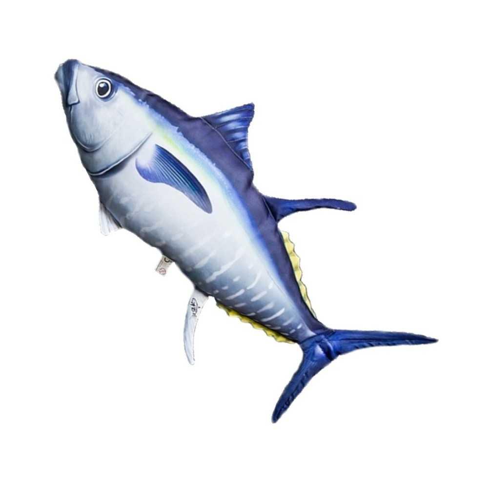 Cuscino a forma di tonno rosso l66 cm for Ais arredo