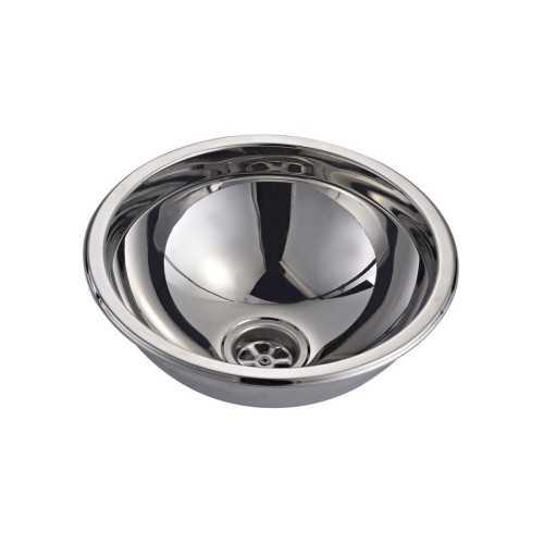 Lavello sferico in acciaio Inox lucido
