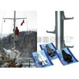 Gradino in nylon pieghevole per albero - Mast Step