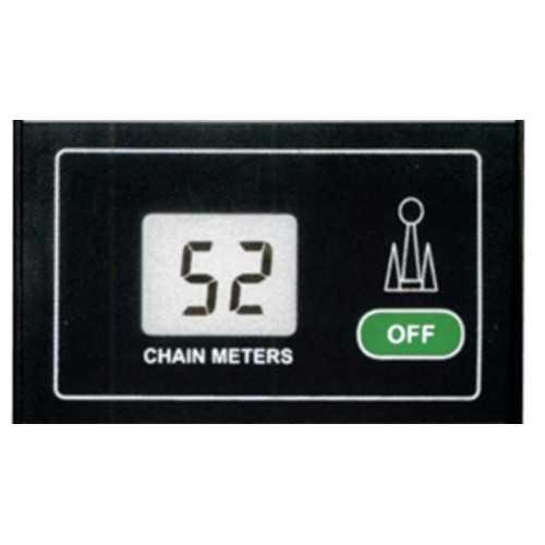 Pannello LCD contametri catena