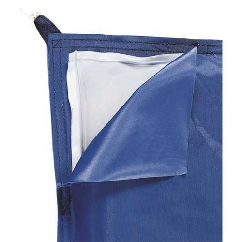 Serbatoio flessibile triangolarie bicamera per acqua potabile