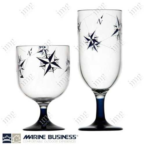 Bicchieri Mini a calice Northwind infrangibili Marine Business