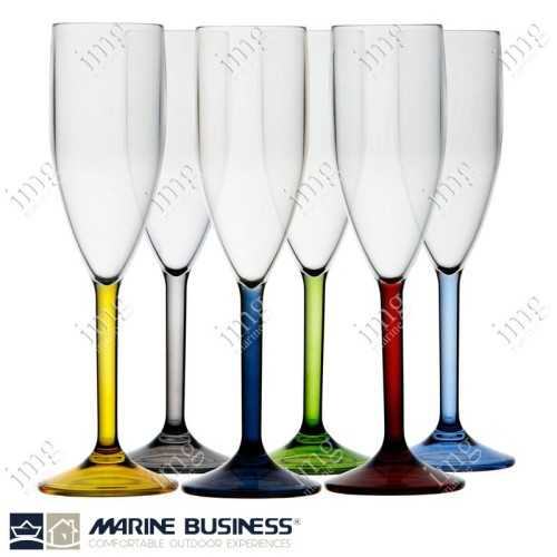 Bicchieri Colours Flute Marine Business