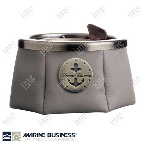 Portacenere antivento Premium Grigio Marine Business