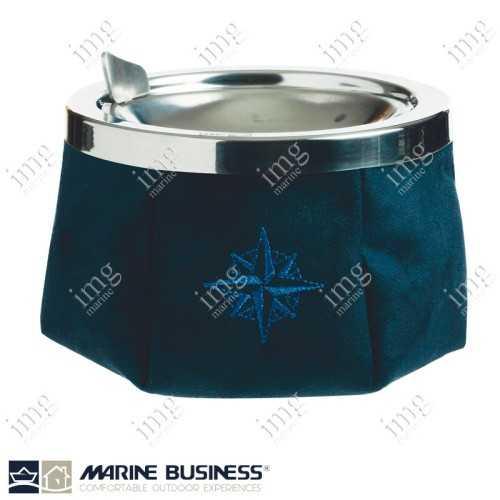 Portacenere antivento Alcantara Blue Navy Marine Business