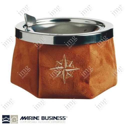 Portacenere antivento Alcantara Caramel Marine Business