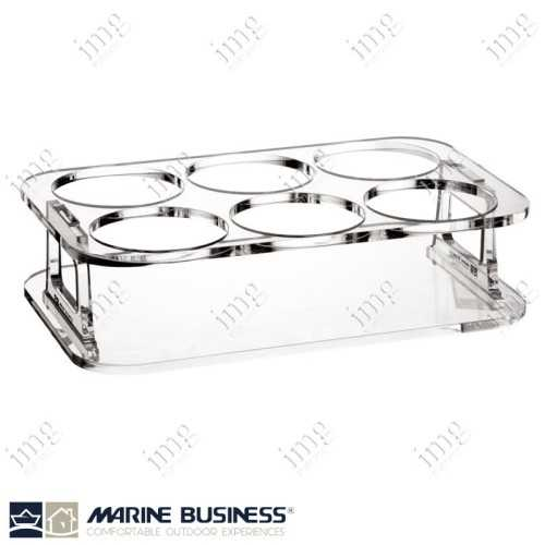 Vassoio porta bicchieri Marine Business