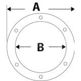 Tappo di ispezione CAN-SB