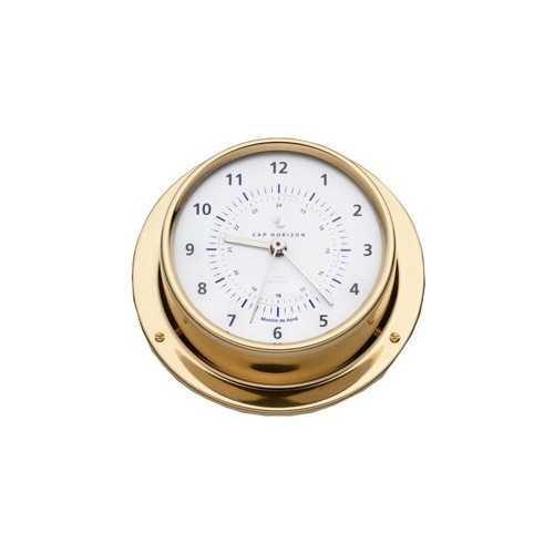 Orologio Ø88 ottone lucido