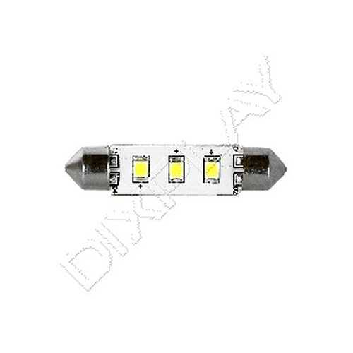 Lampadina 3 Led 42 mm SV8.5