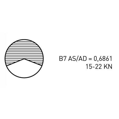 Elica quattro pale B469 per Linea asse
