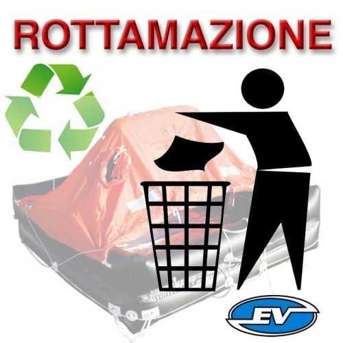 Zattera ISO 9650 Italia oltre 12 miglia Eurovinil Syntesy