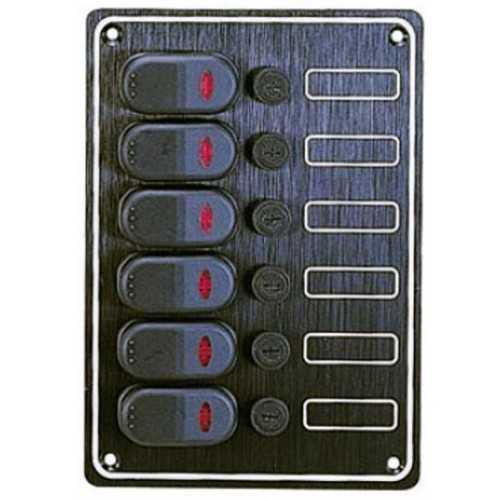 Pannello elettrico Contour 6