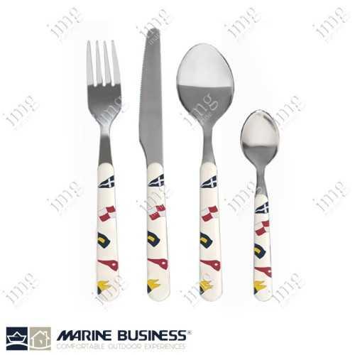 Posate inox 18/10 Regata Marine Business