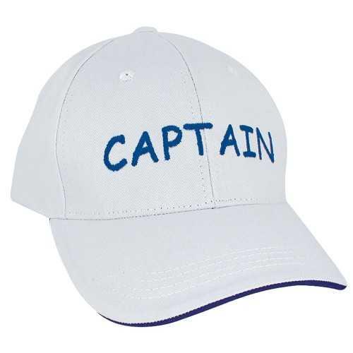 Cappellino con visiera Captain