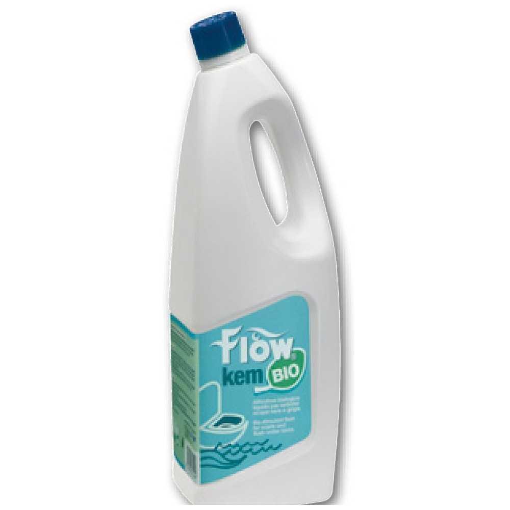 Attivatore biologico liquido Flow Bio Kem serbatoi acque WC