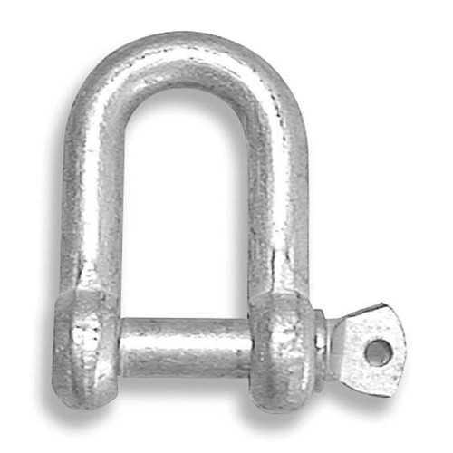 Grillo dritto in acciaio zincato