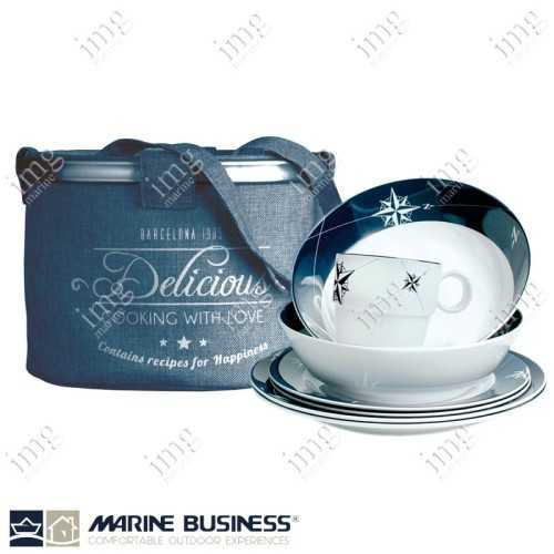 Set piatti 25 pezzi Northwind Marine Business