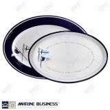 Piatti portata infrangibili Welcome on Board Marine Business