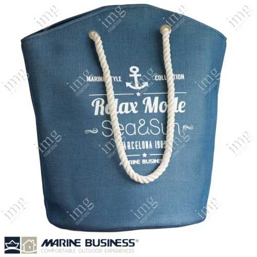 Borsa Bora Bora Beach Bag Blue Marine Business