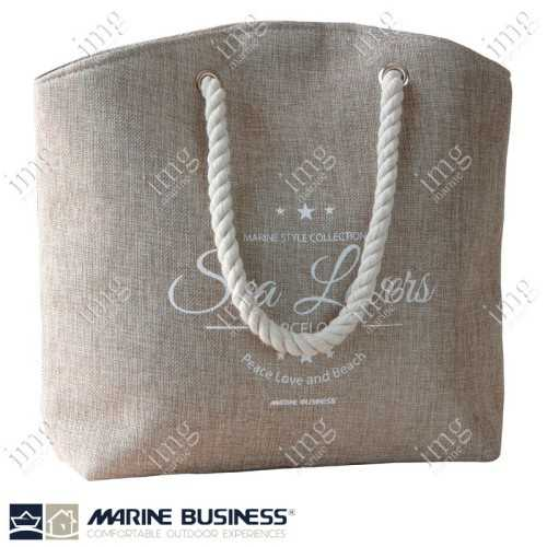 Borsa Bora Bora Hand Bag Beige Marine Business