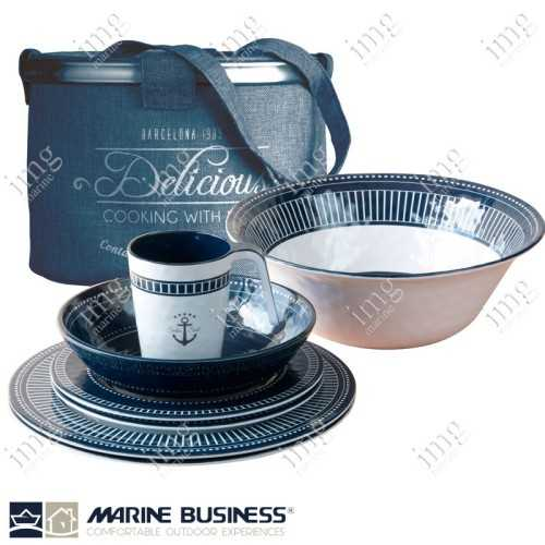 Set piatti 14 pezzi Sailor Soul Marine Business