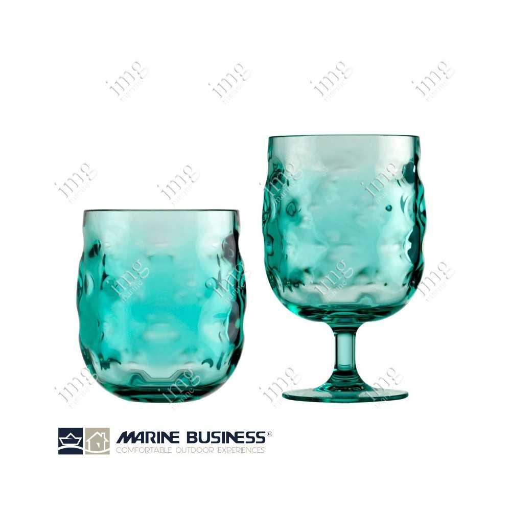 Bicchieri infrangibili Moon Acqua Marine Business