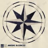 Cuscino Free Style Chic Ecrù Blue - Marine Business