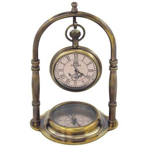 Orologio con bussola