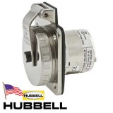 Spina ad incasso 50A HUBBELL