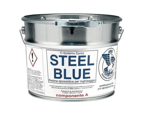 Resina epossidica STEEL BLUE Cecchi
