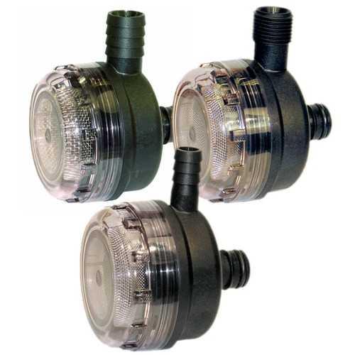 Filtro Pumpgard Jabsco 90° per pompe Par-Max