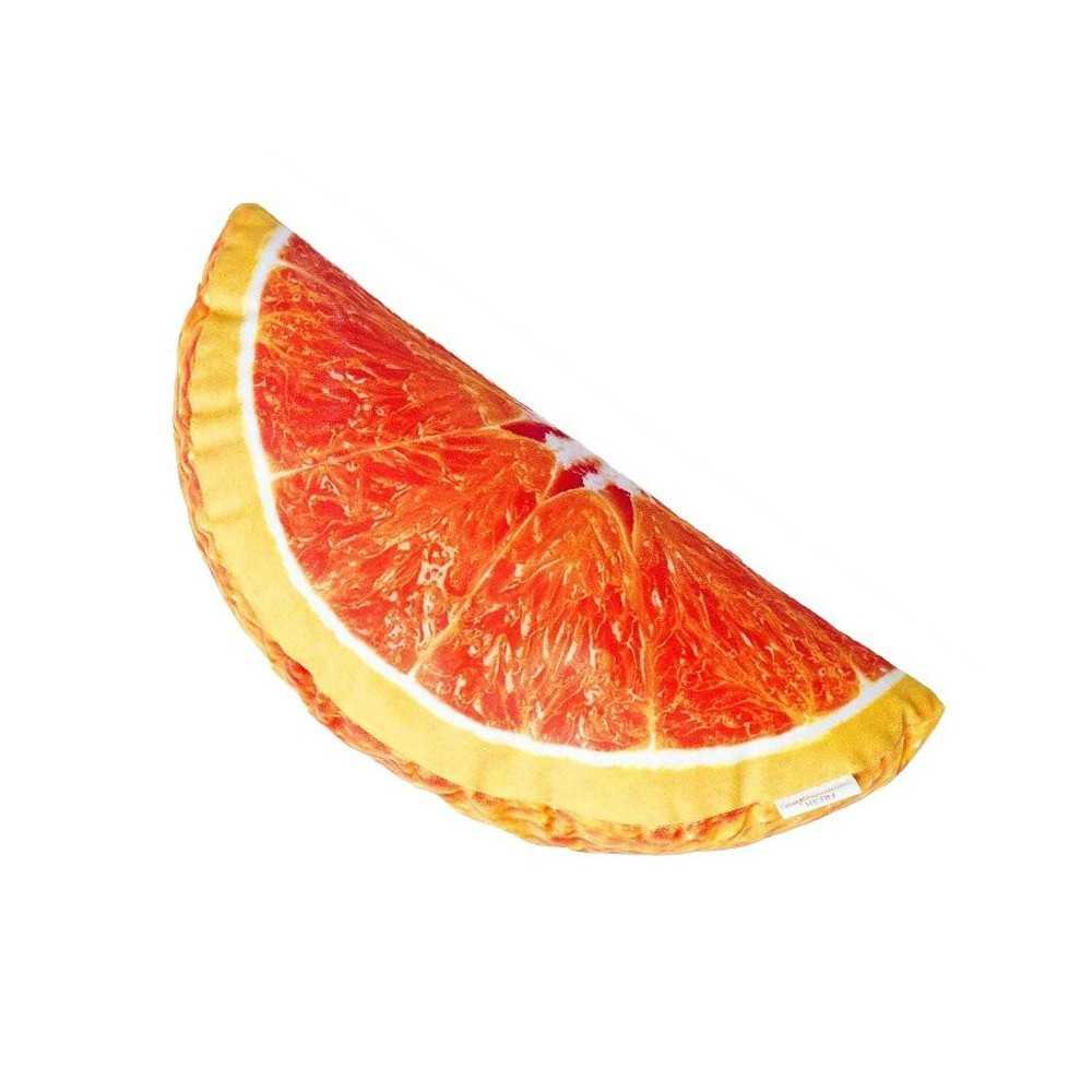Cuscino d 39 arredo a forma di spicchio d 39 arancia for Ais arredo