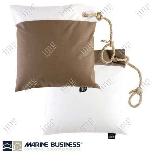 Cuscini Waterproof 40x40 Brown 2 pz - Marine Business