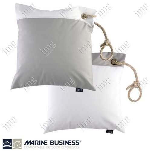 Cuscini Waterproof 40x40 Light Grey 2 pz - Marine Business
