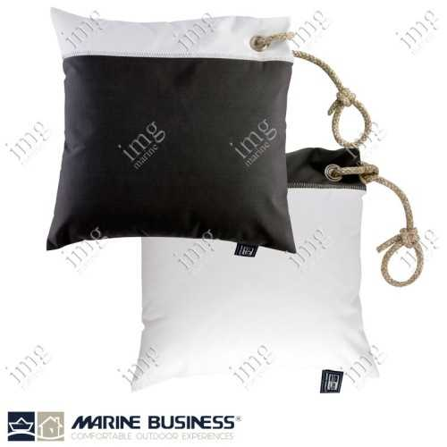 Cuscini Waterproof 40x40 Dark Grey 2 pz - Marine Business