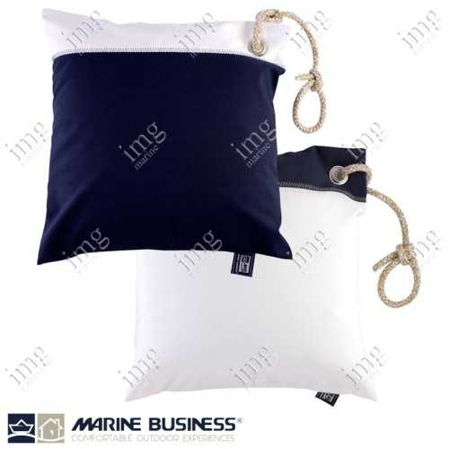 Cuscini Waterproof 40x40 Navy 2 pz - Marine Business