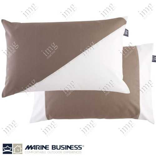 Cuscini Waterproof 40x60 Brown 2 pz - Marine Business