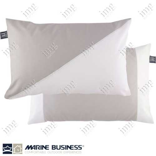 Cuscini Waterproof 40x60 Light Grey 2 pz - Marine Business
