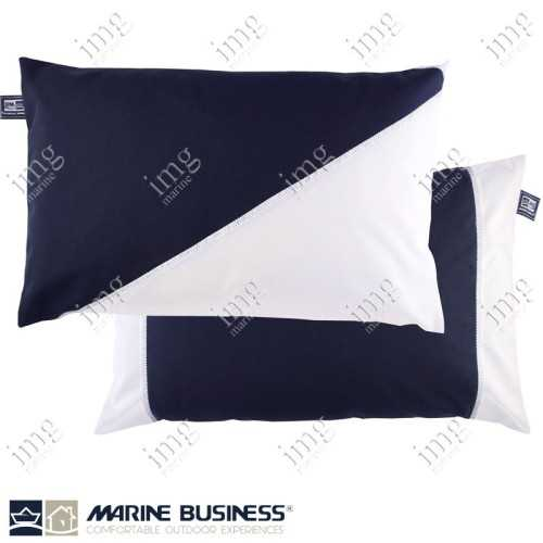 Cuscini Waterproof 40x60 Navy 2 pz - Marine Business