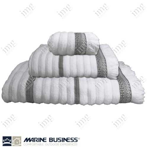 Completo Spugna Waves Bianco Marine Business