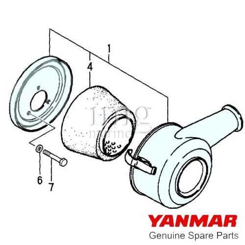 Presa aria Yanmar 2/3GM20/30