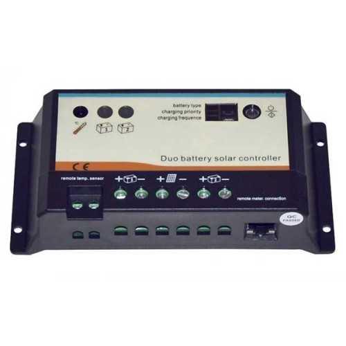 Regolatore di carica PWM 10A Duo - Serie RHD