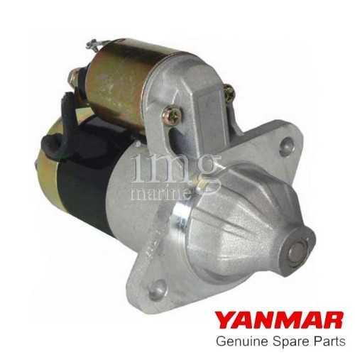 Motorino avviamento Yanmar 1-2-3GM
